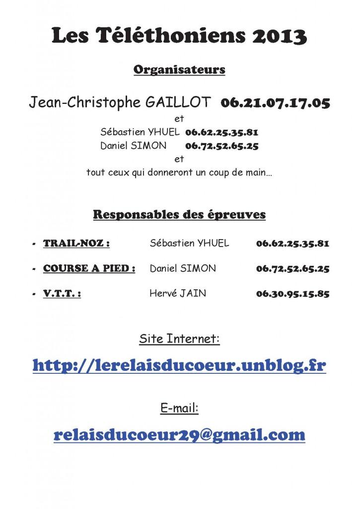 Les Organisateurs dans 1. Présentation dossier-telethon-2013-p10